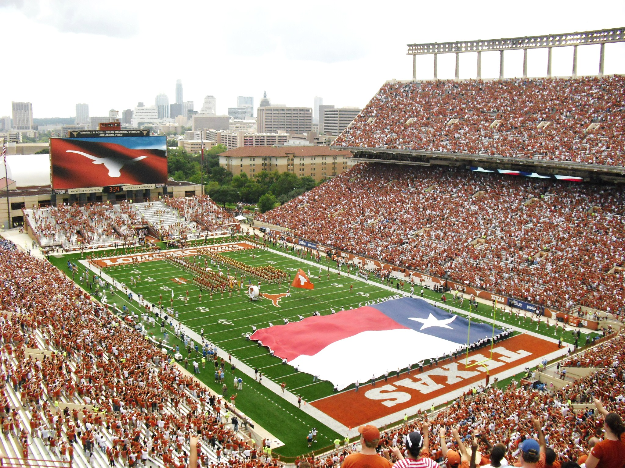 The University of Texas at Austin has an enormous vibrant campus. The ...