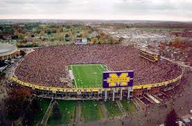"""The Big House"" at the University of Michigan"