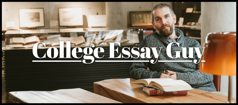 The college essay guy podcast